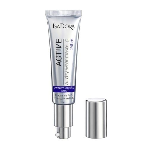 IsaDora Крем Active All Day Wear Make-Up 14 Тональный Стойкость 24 Часа, 35 мл