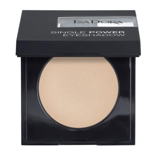 Фото - IsaDora Тени Single Power Eyeshadow для Век 01, 2,2г тени для век eyeshadow 2 5г 06 purple