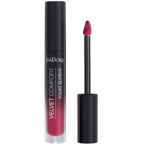 IsaDora Помада Velvet Comfort Liquid Lipstick 60 Жидкая Матовая, 4 мл недорого