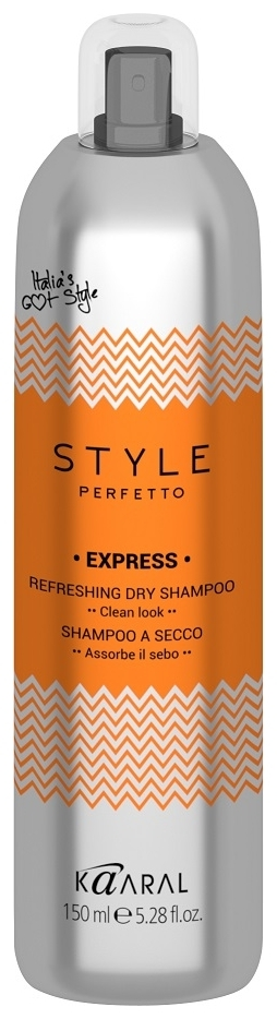 Kaaral Сухой Шампунь Style Perfetto Express Refreshing Dry Shampoo, 150 мл цена