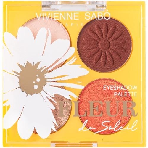 Vivienne Sabo Палетка Fleur du Soleil 01 Теней, 4.8г