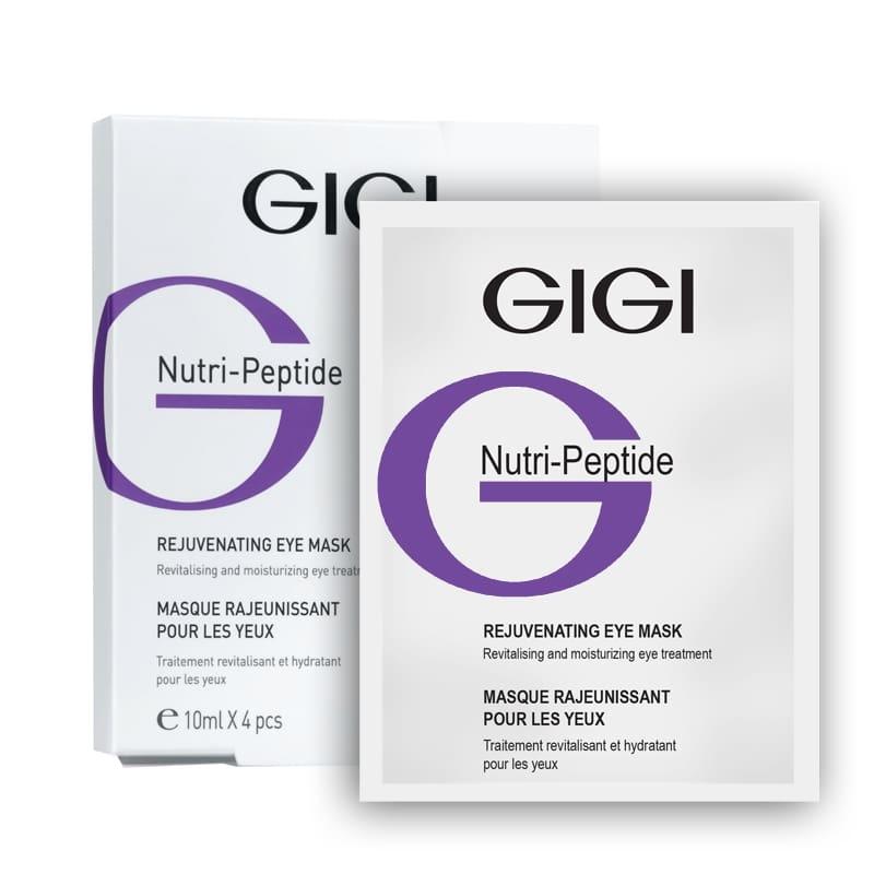 GIGI Маска-Контур NP Eye Contur Mask Пептидная для Век, 4*10 мл gigi пептидная оживляющая сыворотка np vitality serum 30 мл