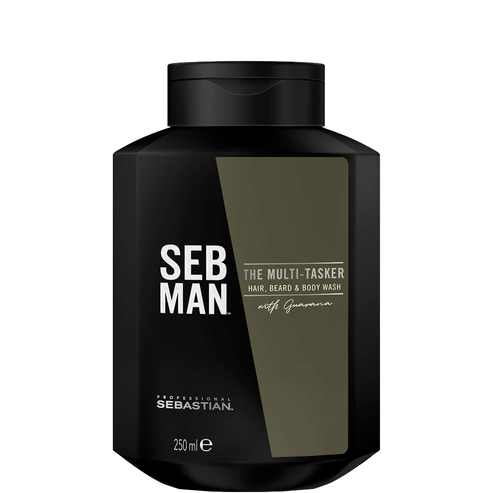 Sebastian Men Шампунь 3 в 1 для Ухода за Волосами, Бородой и Телом The Multitasker, 250 мл