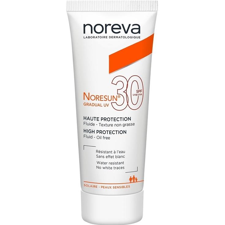 Noreva Эмульсия Noresun Gradual UV Градуал УФ с Высокой Степенью Защиты SPF30 Тюбик, 40 мл