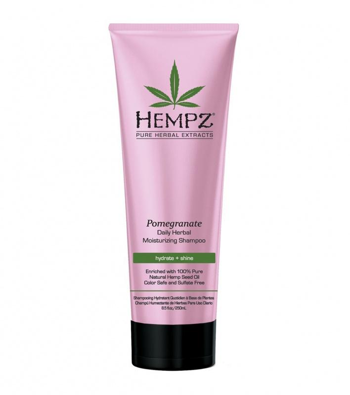 HEMPZ Шампунь растительный Гранат легкой степени увлажнения, 265 мл hempz кондиционер растительный оригинальный для поврежденных окрашенных волос original herbal 265 мл