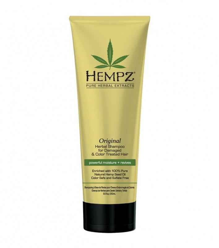 HEMPZ Шампунь растительный Оригинальный сильной степени увлажнения для поврежденных волос, 265 мл hempz кондиционер растительный оригинальный для поврежденных окрашенных волос 1000 мл
