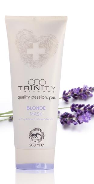 Trinity Hair Care Маска для Окрашенных и Осветленных Волос Essentials Blonde Mask, 200 мл hair care спрей для эффекта мокрых волос radiant blonde sea salt с морской солью для светлых волос 200 мл