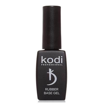 Kodi Professional Основа/База Rubber Base Каучуковая для Гель Лака, 12 мл kodi каучуковое верхнее покрытие топ финиш для гель лака rubber top 35 мл
