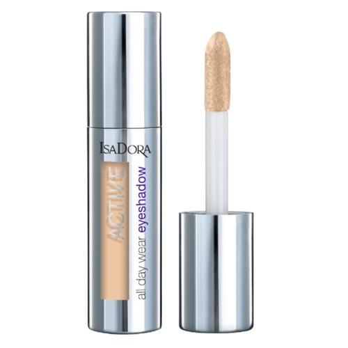 IsaDora Тени Active All Day Wear Eyeshadow 01 для Век Жидкие Устойчивые, 3 мл недорого