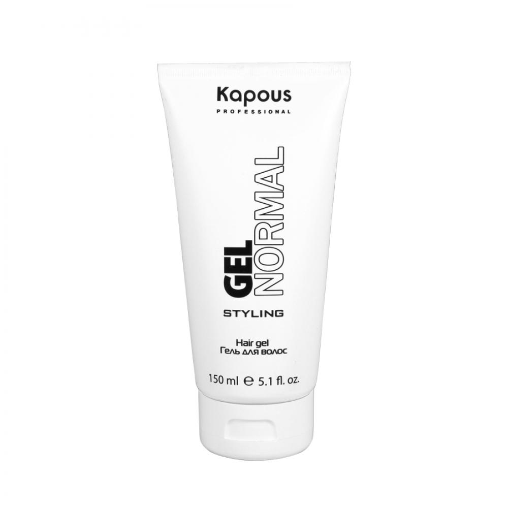 Kapous Гель для Волос Нормальной Фиксации Gel Normal Styling, 150 мл