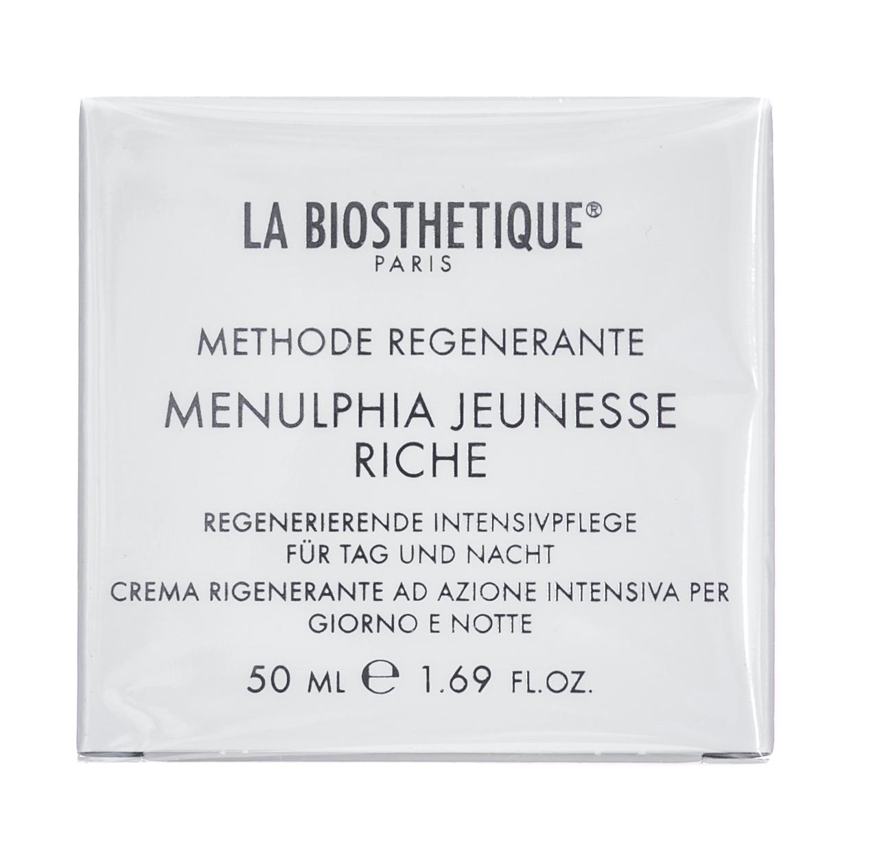 La Biosthetique Крем Menulphia Jeunesse Riche Насыщенный Регенерирующий Интенсивного Действия, 50 мл