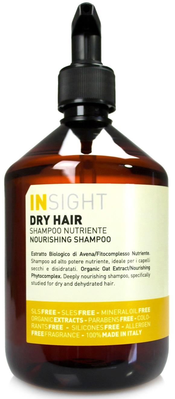 INSIGHT Увлажняющий шампунь для сухих волос, 400 мл insight шампунь для поврежденных волос 400 мл
