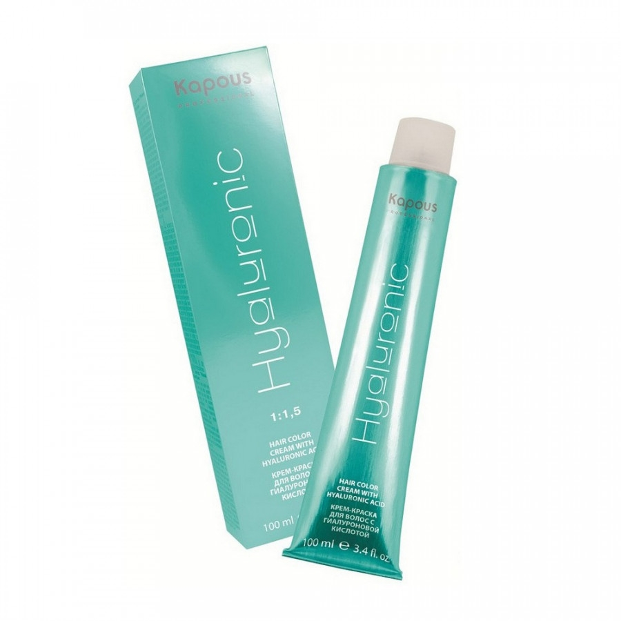 Kapous Краска для волос Kapous Professional Hyaluronic acid 5.0 Светлый Коричневый, 100 мл
