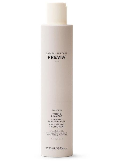 Фото - Previa Шампунь Smoothing Taming Shampoo Дисциплинирующий для Гладкости Волос, 250 мл шампунь для гладкости волос pro series гладкие и шелковистые 500 мл
