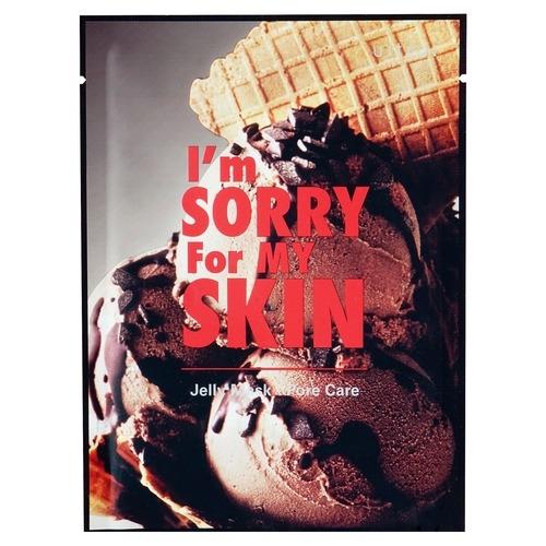 I'm Sorry For My Skin Маска Тканево-Гелевая для Сужения Пор Прости Меня, Моя Кожа! за Сладости I'm Sorry For My Skin, 1 шт sorry