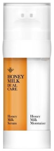 Double Dare OMG Сыворотка Медовая и Увлажняющий Молочный Крем для Кожи Лица, 2*30г