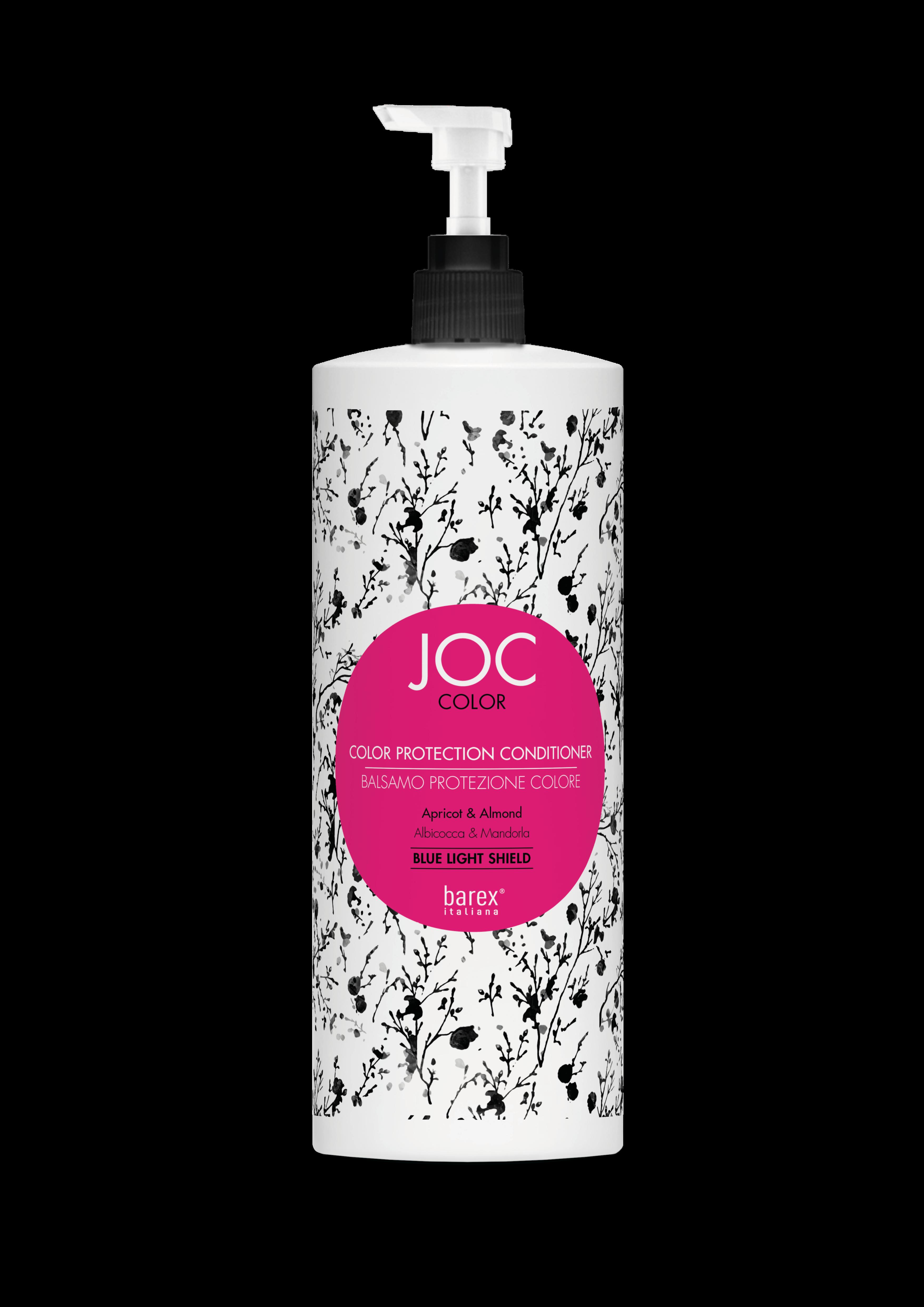 Barex Бальзам-Кондиционер JOC Color Protection Conditioner Стойкость Цвета с Абрикосом и Миндалем, 1000 мл