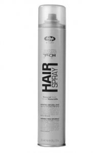 Lisap Лак для Укладки Волос Нормальной Фиксации High Tech Hair Spray Natural Hold, 500 мл