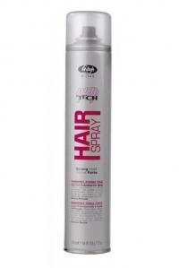 Lisap Лак для Укладки Волос Сильной Фиксации High Tech Hair Spray Strong Hold, 500 мл lisap лак без газа для укладки волос сильной фиксации high tech hair no gas strong 300 мл