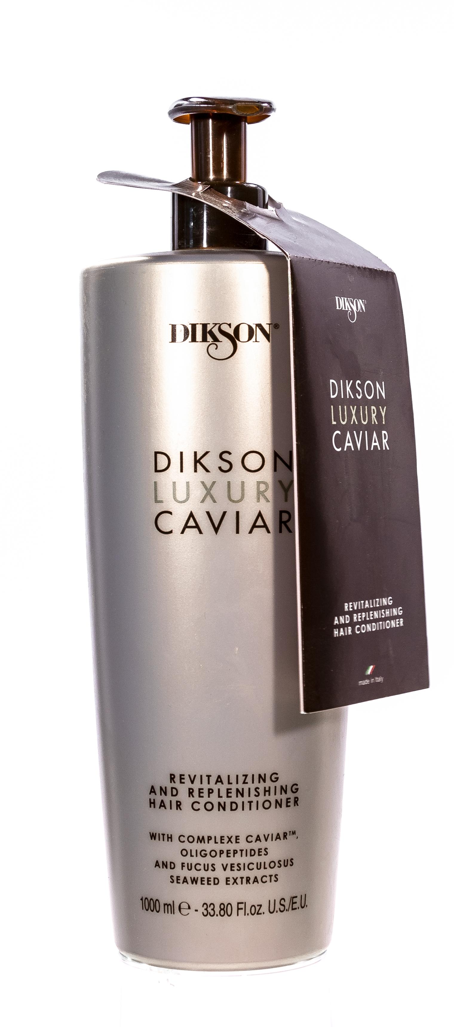 Dikson Кондиционер Complexe Caviar Conditioner Ревитализирующий и Наполняющий, 1000 мл dikson кондиционер complexe caviar conditioner ревитализирующий и наполняющий 280 мл