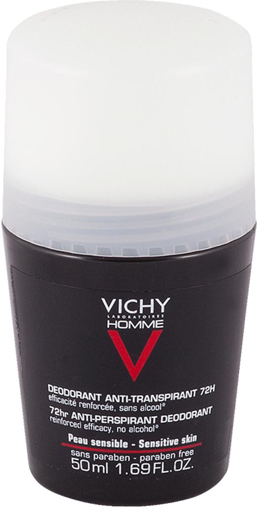 VICHY Дезодорант-Антиперспирант Homme против Избыточного Потоотделения, 50 мл