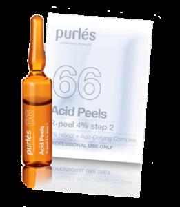 Purles Пилинг Ретиноловый R-Peel 4%, 5*2 мл + 5 саше*3