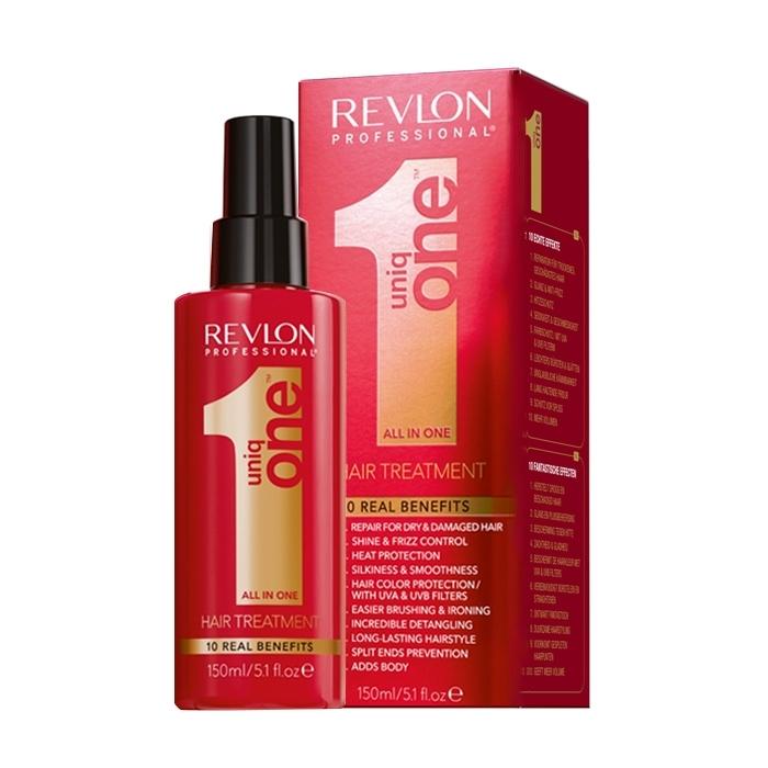 REVLON Спрей-Маска для Всех Типов Волос Uniq One, 150 мл revlon uniq