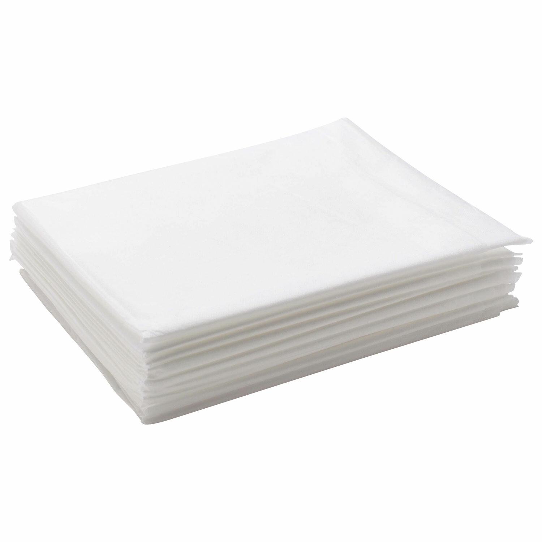 IGRObeauty Простыня Спанбонд Ламинированный 35 г/м.кв Белый 200х80 Поштучно, 10 шт/уп