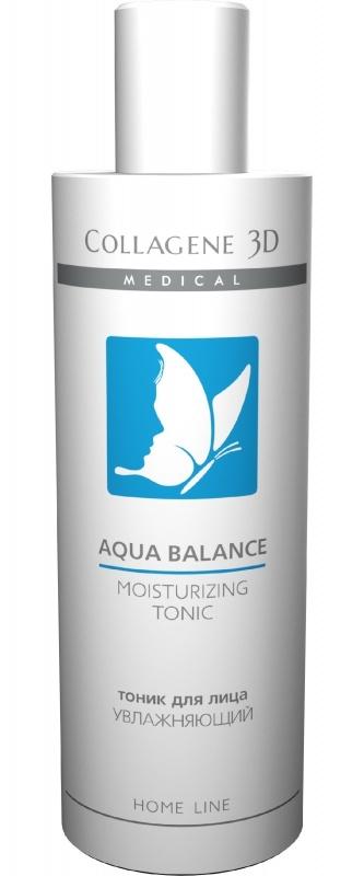 Collagene 3D Тоник для лица увлажняющий Aqua Balance, 250 мл