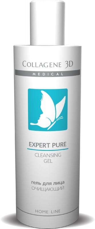 Collagene 3D Гель для Лица Очищающий Expert Pure, 250 мл collagene 3d гель для лица очищающий expert pure 250 мл