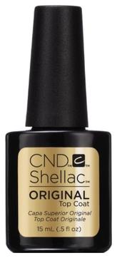 CND Покрытие Shellac UV Original Top Coat Верхнее, 15 мл