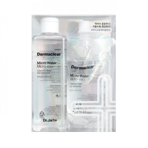 Dr.Jart+ Микро-Вода Micro Water+ Refill Биоводородная для Очищения и Тонизирования Кожи Dermaclear, 250+150 мл