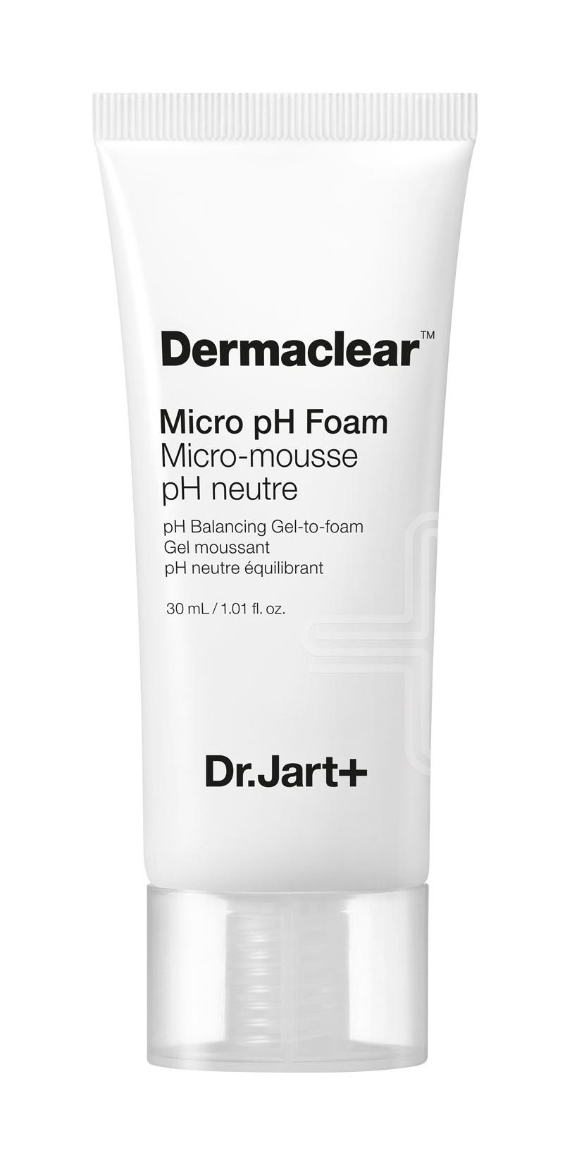 Dr.Jart+ Гель-Пенка Dermaclear Micro pH Foam для Умывания Глубокого Очищения PH 5.5, 30 мл