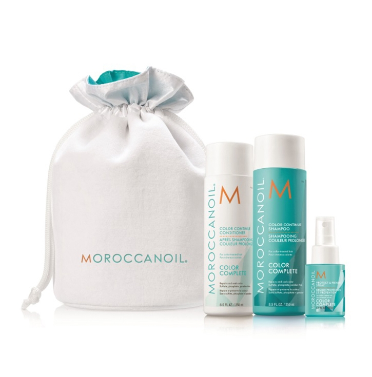 Moroccanoil Набор Сolor Complete/Сохранение Цвета, 550 мл moroccanoil шампунь увлажняющий 250 мл