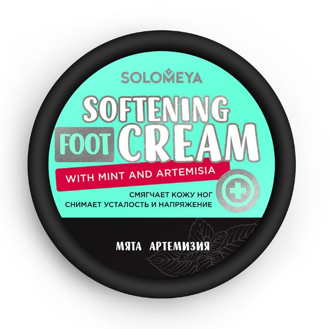 Solomeya Крем Softening foot Cream with Mint and Artemisia Смягчающий для Ног с Мятой и Артемизией, 100г anna banti artemisia