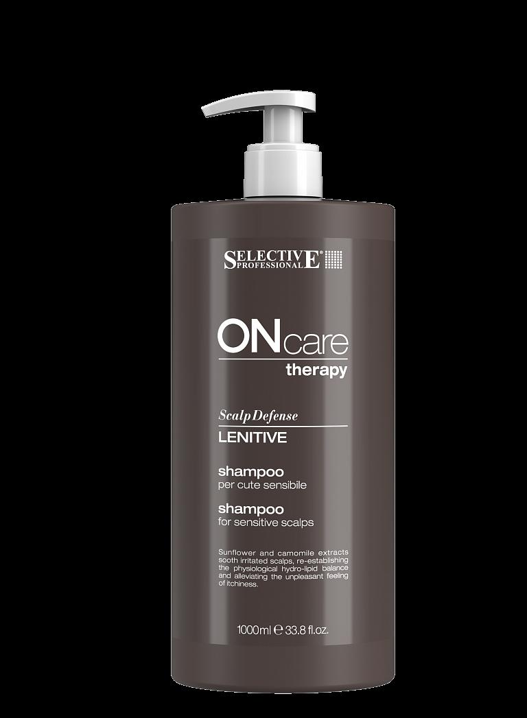 Selective Professional Lenitive Shampoo Шампунь для Чувствительной Кожи Головы, 1000 мл