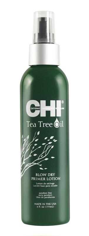CHI Лосьон-праймер Tee Tree Oil с Маслом Чайного Дерева, 177 мл chi luxury black seed oil curl defining cream gel