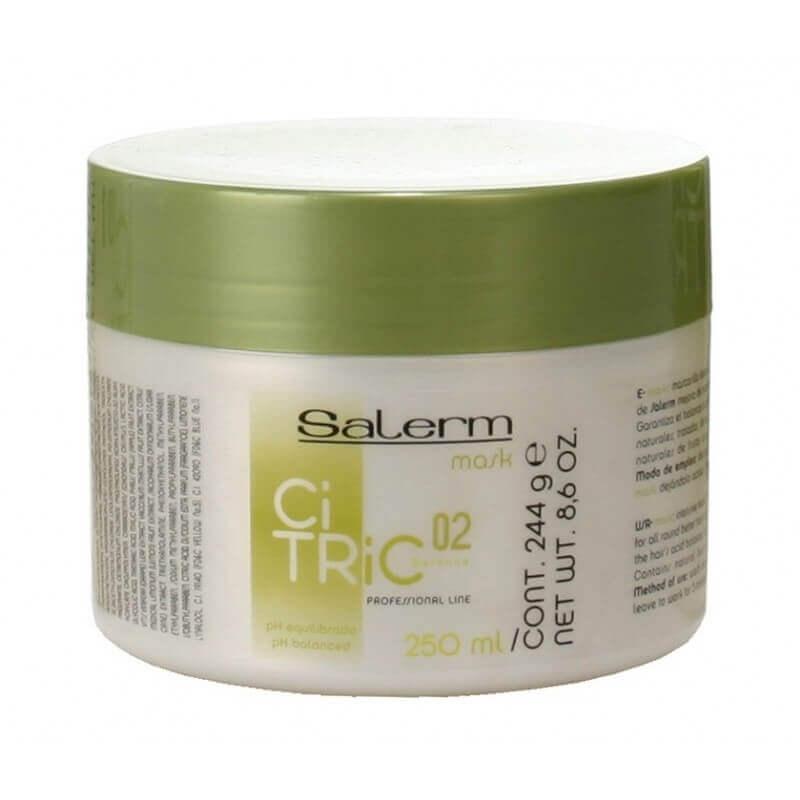 Salerm Cosmetics Маска Citric Balance для Окрашенных Волос, 250 мл salerm cosmetics тоник hi reair завершающий для защиты волос 100 мл