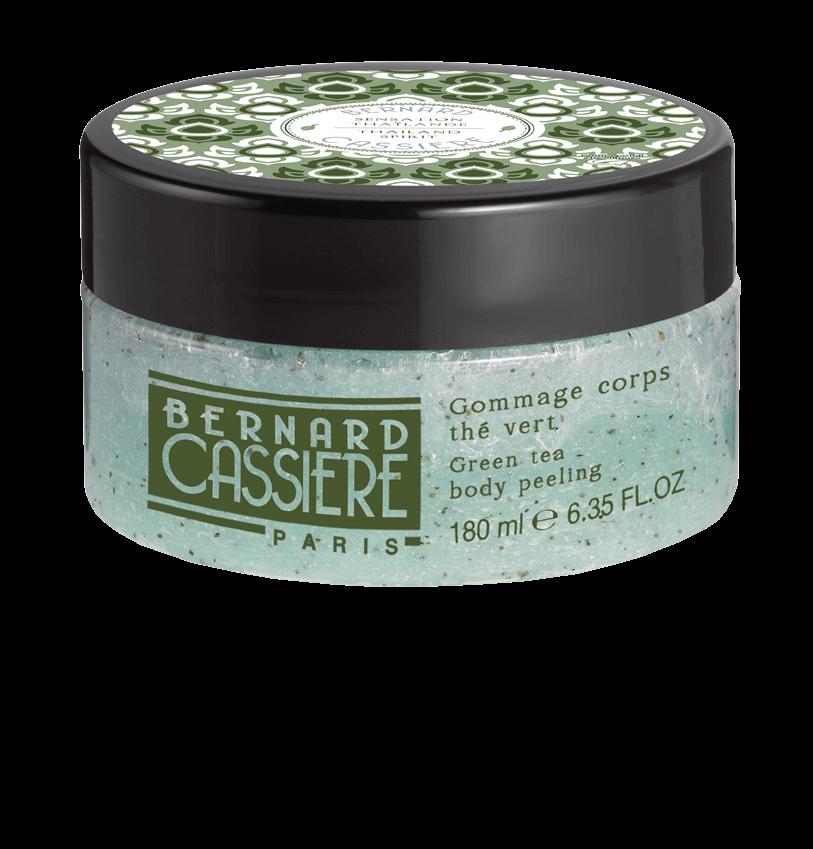 Bernard CASSIERE Гоммаж для Тела Зеленый Чай, 180 мл bernard cassiere питательный бальзам для тела с медом 180 мл