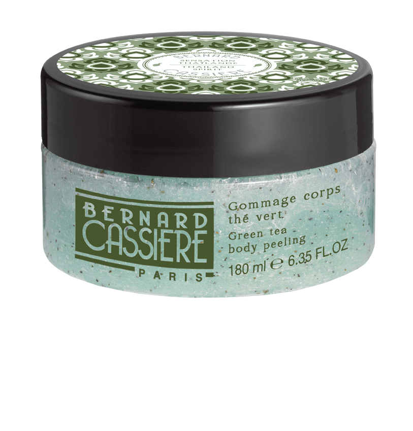 Bernard CASSIERE Гоммаж для Тела Зеленый Чай, 180 мл