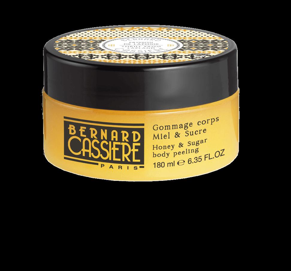 Bernard CASSIERE Гоммаж Honey and Sugar Body Peeling для Тела с Медом и Сахаром, 180 мл