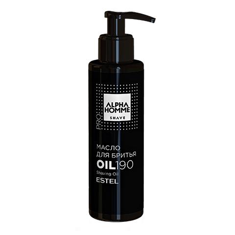 ESTEL Масло Alpha Homme Pro для Бритья, 190 мл alpha homme масло для волос и бороды с дозатором 190 мл