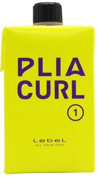 Lebel Cosmetics Лосьон Plia Curl 1 для Химической Завивки Волос Средней Жесткости. Шаг1, 400 мл ducray неоптид лосьон от выпадения волос для мужчин 100 мл