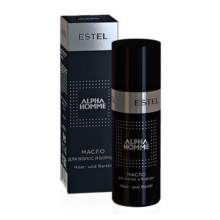 ESTEL Масло Alpha Homme для Волос и Бороды, 50 мл alpha homme масло для волос и бороды с дозатором 190 мл
