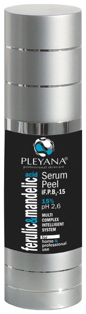 Pleyana Пилинг-Сыворотка iF.P.B3-15 Ниацинамид с Миндально-Феруловым Комплексом 15% рН 3,5, 30 мл pleyana сыворотка биоревиталайзер эликсир 30 мл