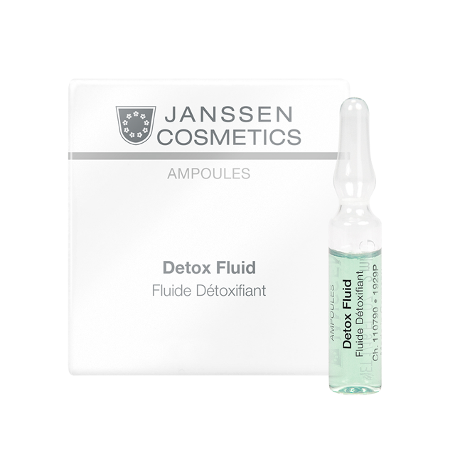 Janssen Детокс-Сыворотка в Ампулах, 3*2 мл janssen cosmetics ampoules detox fluid сыворотка детокс в ампулах 7 х 2 мл