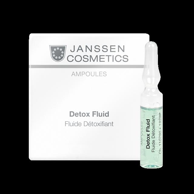 Janssen Детокс-Сыворотка в Ампулах, 25*2 мл janssen cosmetics ampoules detox fluid сыворотка детокс в ампулах 7 х 2 мл