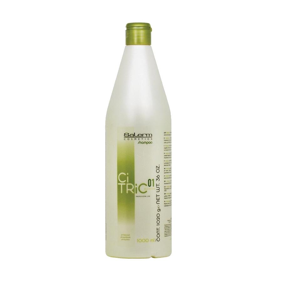 Salerm Cosmetics Шампунь Citric Balance для Окрашенных Волос, 1000 мл