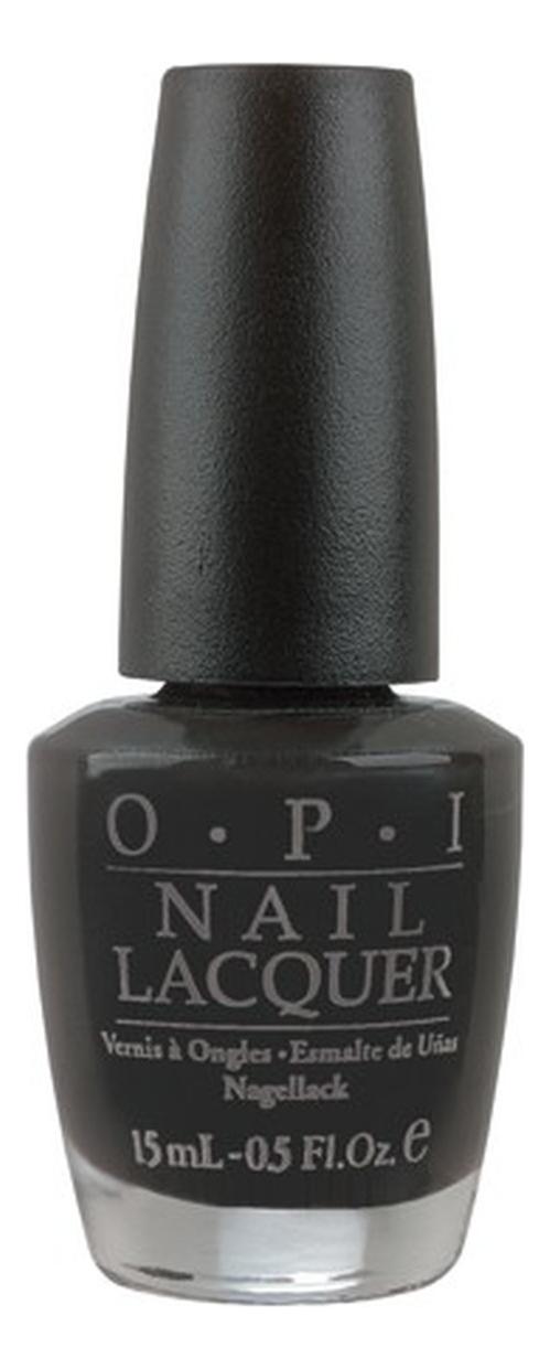 OPI Лак Classic NLT02-EU Nail Lacquer  Lady in black для Ногтей, 15 мл недорого