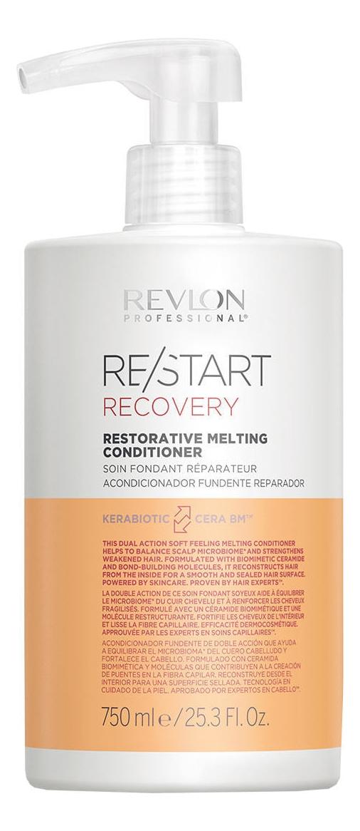 REVLON Кондиционер Restart Recovery Restorative Melting Conditioner Восстанавливающий, 750 мл